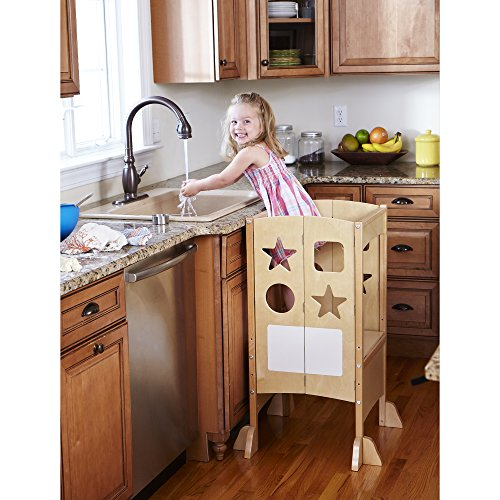 Guidecraft Kitchen Helper, Natural