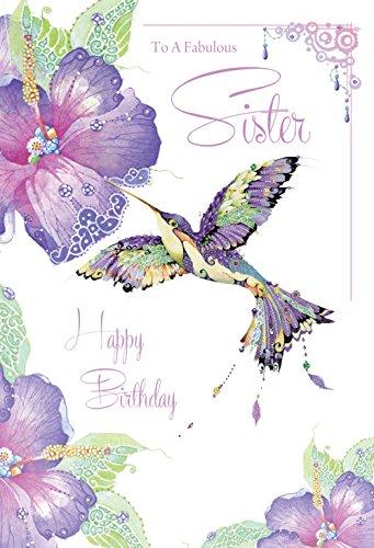 Tarjeta de felicitación - hermana cumpleaños (CO4025 ...
