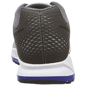 Nike Men's Air Zoom Pegasus 33, Wolf Grey/Black/Dark Grey - 11 D(M) US