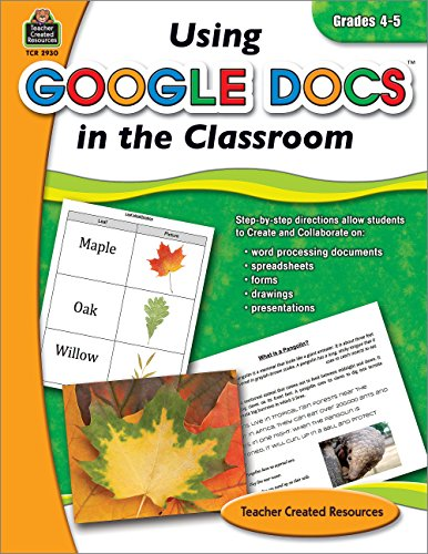 Using Google Docs in the Classroom Grade 4-5
