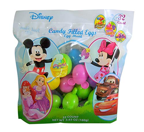 Disney Candy Filled Easter Eggs, Pack of 32 ()