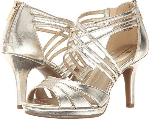 Bandolino Women's Sadie Light Gold Synthetic (Bandolino Leather Platforms)