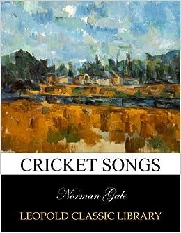 Book Cricket songs