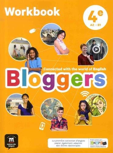 Bloggers 4e (A2-B1) - Workbook d'anglais (Espagnol) Broché – 15 juin 2017 MAISON LANGUES 2356854533 Lernhilfen / Abiturwissen Anglais 4e