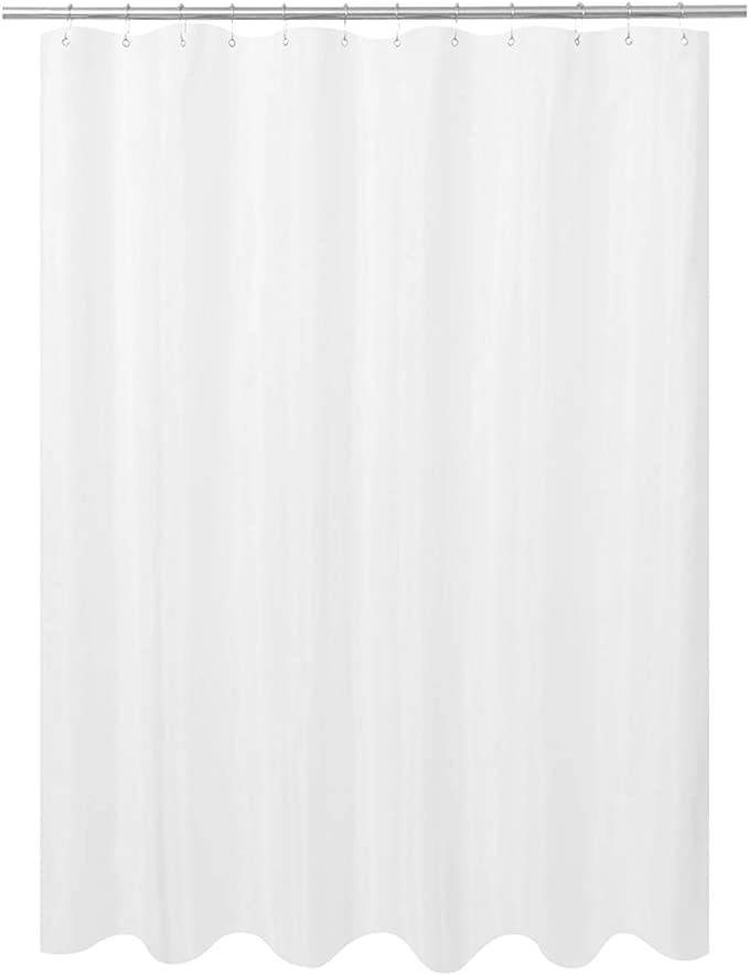 Color : Grey, Size : 180 * 200cm Shower Curtain,Waterproof Mould Proof Resistant Bathroom Curtain Washable Bath Curtain 180x200cm