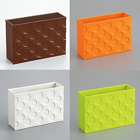 Kicode Nevera Caja de almacenamiento im/án Con el im/án Organizador Caja por Inicio Almacenamiento