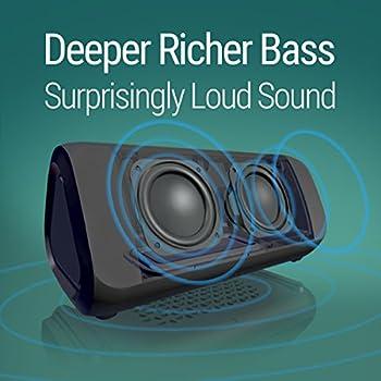 Oontz Angle 3 Plus Bluetooth Speaker Rich Bass 30 Hour 3
