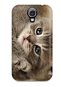 ZippyDoritEduard Premium Protective Hard Case For Galaxy S4- Nice Design - Cute Kitten