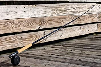 TROUT FLY FISH 7ft 4in 2.4M CARBON Telescoping Rod Reel Combo by FTUSA