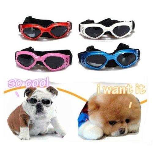 S UV Sonnenbrille Hundebrille Sonnenschutz Brille für Haustier Hunde Dog Auswahl