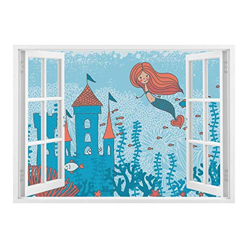 little mermaid wall cover - 5