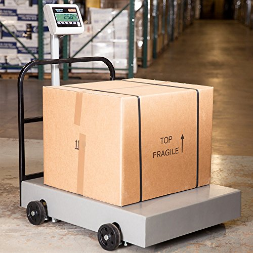 Tor Rey EQM-1000/2000 2000 lb. Digital Receiving Bench Scale, Legal for ()