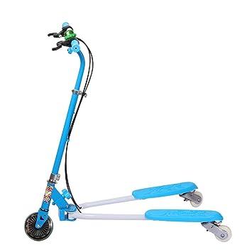 3 ruedas Scooter niños deslizador Swinged autopropulsados ...