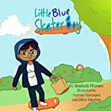 Little Blue Skater Boy