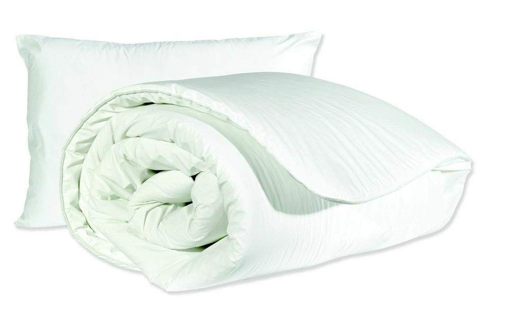 Comfortnights Waterproof and Wipe Clean Duvet and Pillow Set Single Size 135cm x 200cm - 10.5 tog Shellmark