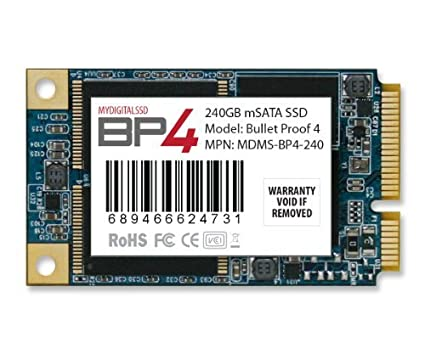 MyDigitalSSD Bullet Proof 2.5 SSD Drivers Download Free