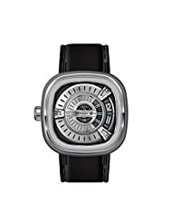 SEVENFRIDAY Men's M1-1 M Series Analog Display Japanese Automatic Black Watch by SEVENFRIDAY
