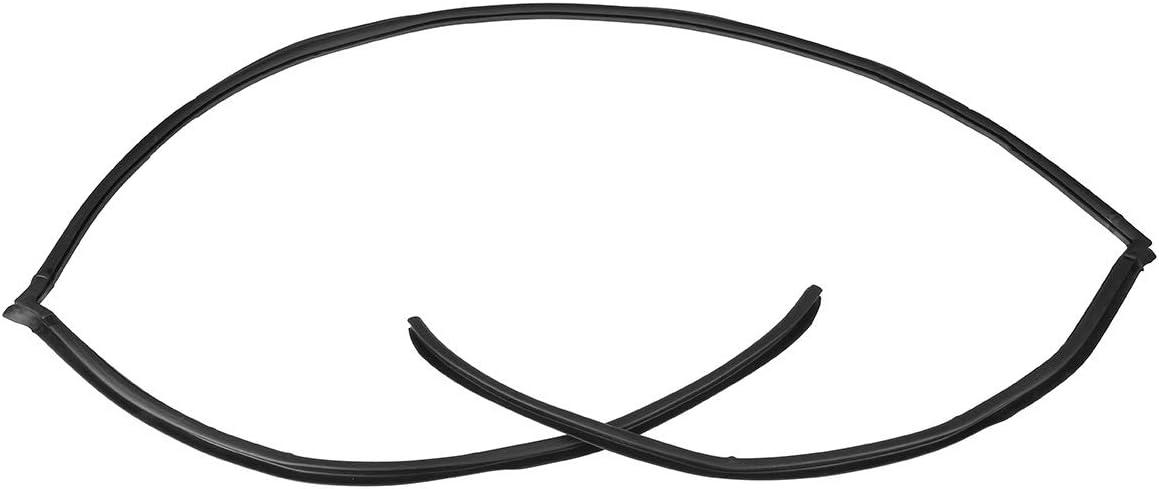 Car Seal Strip Joint d/étanch/éit/é de moulage sup/érieur de la voiture arri/ère de pare-brise FIT pour BMW E60 5 s/érie 525i 530i 528i 2004-2010 51317027916 Caoutchouc Auto Sceaux