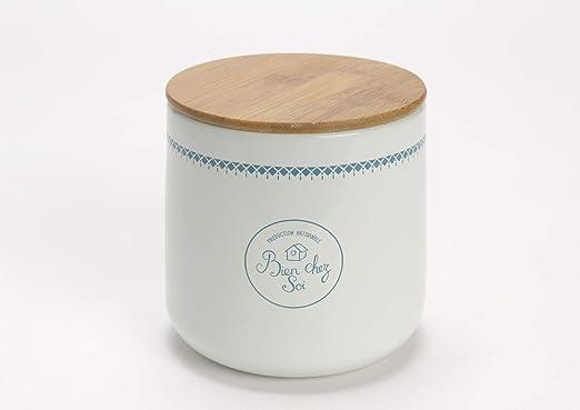 Cerámica bola de algodón tarro/bote para baño, mueble para lavabo ...