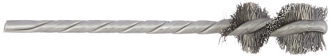 Osborn 36033SP Crimped Wire Internal Brush 0.008 Wire Diameter String Carbon Steel