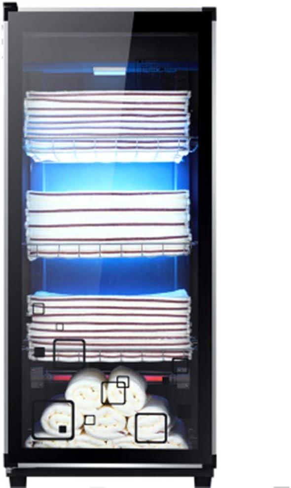 Detazhi Calentadores de Toallas de Gran Capacidad de desinfección UV Esterilizador gabinete de la Secadora, 36L (Color : 138l)