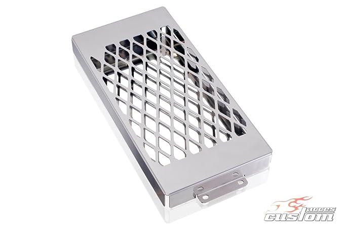 CUSTOM ACCES - PR0003J/197 : Cubreradiador Protector embellecedor radiador: Amazon.es: Coche y moto