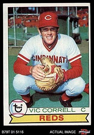 Amazoncom 1979 Topps 281 Vic Correll Cincinnati Reds Baseball