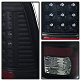 Ford F150 Styleside / F250/350/450/550 Super Duty LED Tail Lights With Black House And Smoke Lens