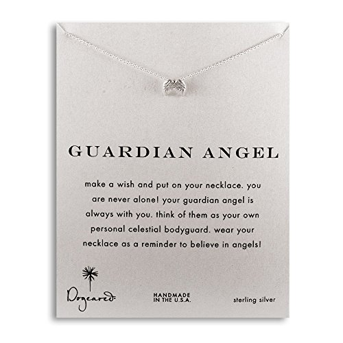 - Dogeared Guardian Angel Wings Sterling Silver Necklace