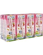 Lacnor Essentials Stwawberry Milk - 180 ml x 8