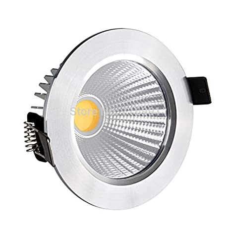 dcbdd4abbda Buy Syska LED DownLight(COB White RIng)3.5inch 7W- warm white color Online  at Low Prices in India - Amazon.in
