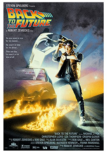 Back To The Future - One Sheet Movie 27x40 Poster Art Print