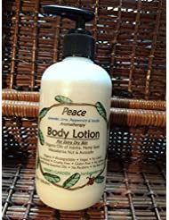 Amazon.com: Hanks Garden Peace Aromatherapy Body Lotion - Moisturizer - with Lavender, Lime, Peppermint & Vanilla Essential Oils - Natural, ECO Friendly, ...