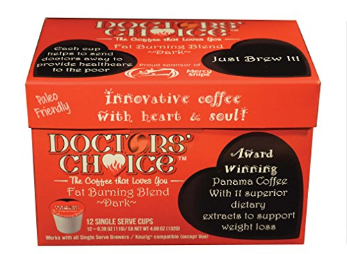 "Doctors Alternative Antioxidant ""Fat Burning Blend"" (12 Count Carton)"