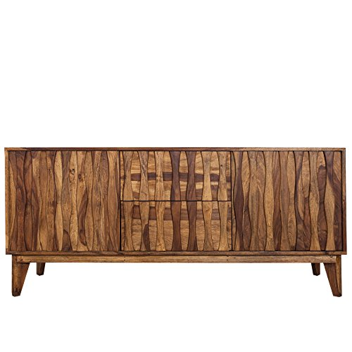 Design sideboard retro 170cm sheesham stone finish design for Design tisch smooty