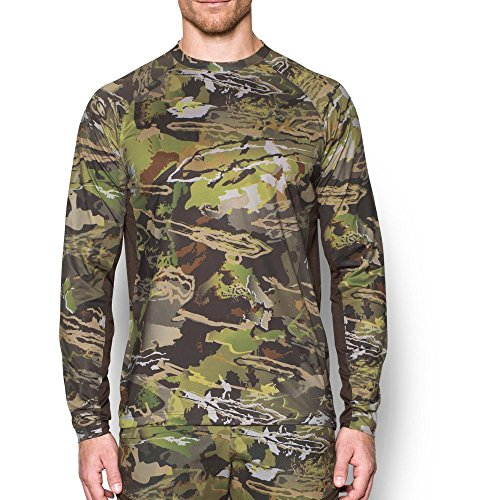 (Under Armour Men's CoolSwitch Camo Long Sleeve, Ridge Reaper Camo Fo /Bayou, X-Large)