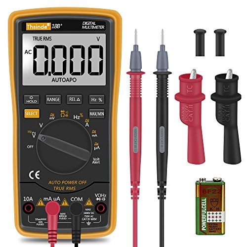 Clip On Voltage Tester : Digital multimeter thsinde auto ranging
