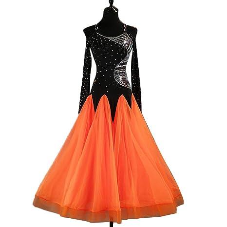 Baile de Salón Vestidos de la Mujer Entrenamiento Rendimiento ...