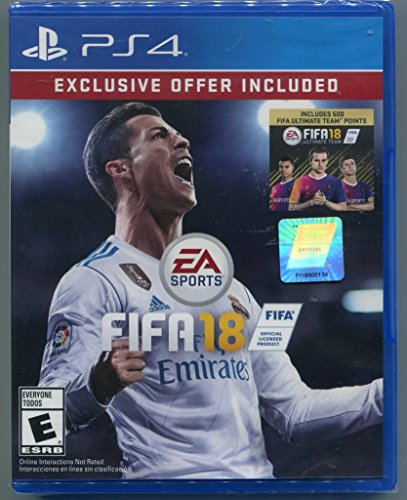 PS4 FIFA 18 Includes 500 FIFA Ultimate Team Points (Best Team Games Ps4)