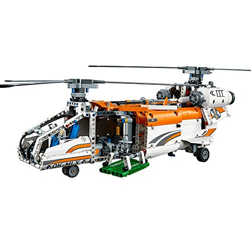 lego technic heavy lift helicopter 42052 advanced building toy import it all. Black Bedroom Furniture Sets. Home Design Ideas