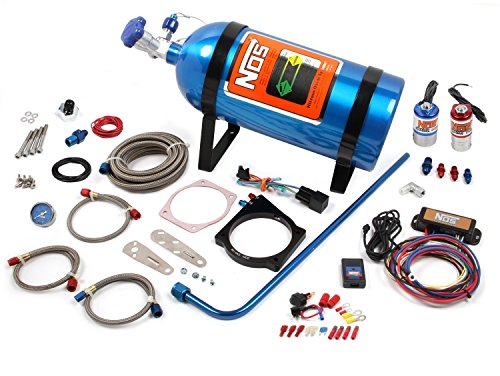 NOS 05163NOS GM LS w/4 Bolt Cable Throttle Complete Nitrous System