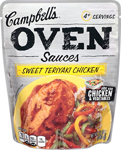 campbells-oven-sauces-sweet-teriyaki-chicken-12-ounce-pack-of-6