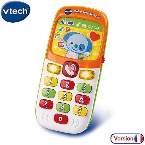 VTech Baby Smartphone bilingue Juguete para el Aprendizaje ...