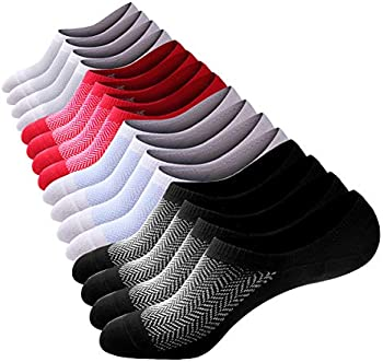8-Pk. No Show Men Cotton Low Cut Casual Invisible Ankle Socks