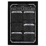 Hathaway Shuffleboard Game Rules Wall Art