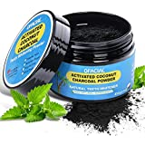 Teeth Whitening Charcoal Powder Natural – Ofacial Organic Activated Charcoal Teeth Whitening Powder from Coconut Shells - Non Abrasive and Proven Safe for Enamel – 2.8oz