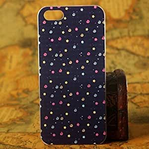 SHOUJIKE Hot Beautiful Tiny spots Pattern Hard Cover Case for iPhone 4/4S
