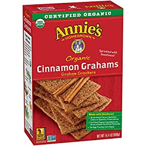 Amazon.com : Annie's Organic Graham Crackers, Cinnamon