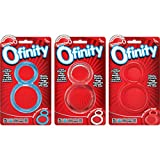 Screaming O Ofinity Rings, 6 Pack, Assorted Colors