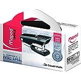 Grampeador Mini Essentials 26/6 Caixa x 20, Maped 130, Preto